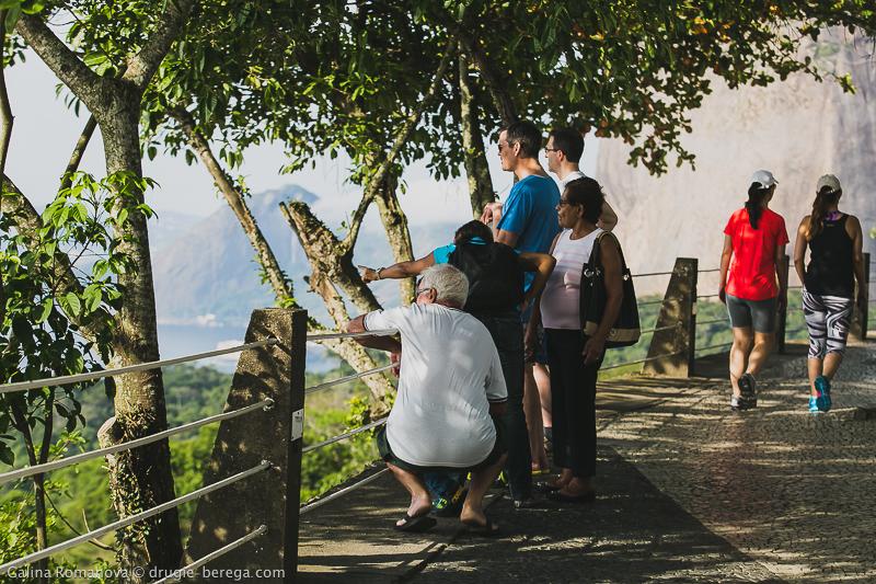 Рио-де-Жанейро, гора Урка и открывающийся с нее вид на город