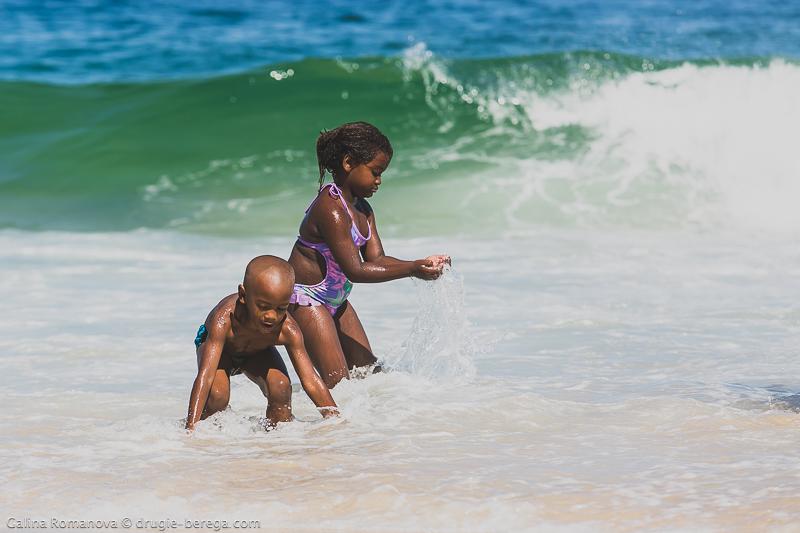 Рио-де-Жанейро, пляж Ипанема: Rio de Janeiro, Ipanema beach