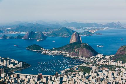Рио-де-Жанейро с высоты. Здравствуй небо, здравствуй море, облака…