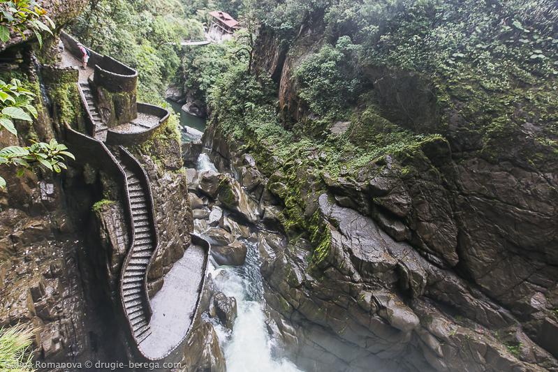 Водопад Pailon del Diablo (Котел Дьявола), Эквадор
