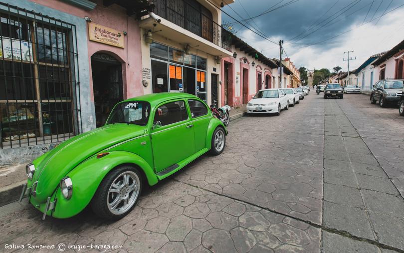Фольксваген Жук в Мексике - одна из самых популярных моделей автомобиля