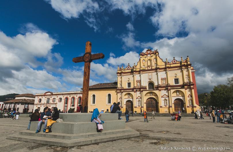 Кафедральный собор  в Сан-Кристобаль-де-лас-Касас, San Cristóbal de las Casas