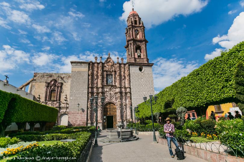 Сан-Мигель-де-Альенде; San Miguel de Allende, Templo de San Francisco