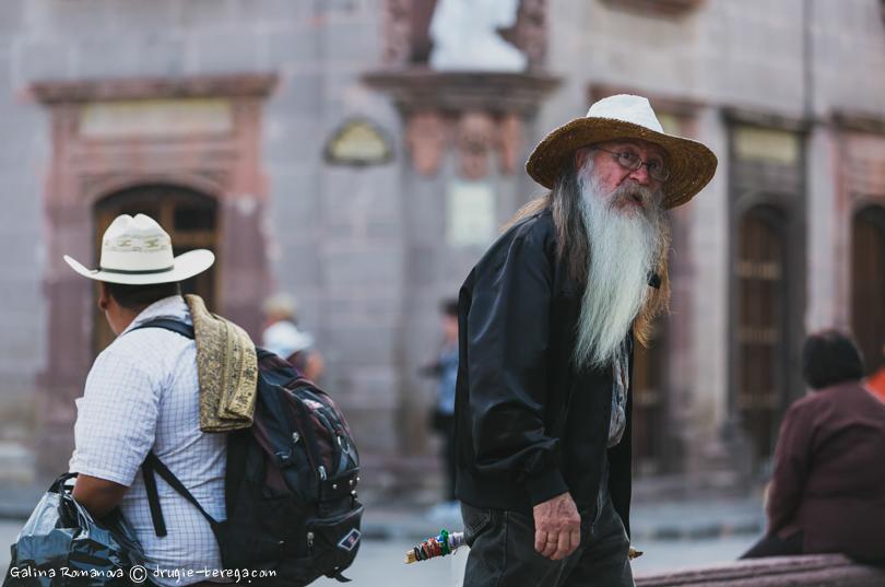 Жители Сан-Мигель-де Альенде, Мексика