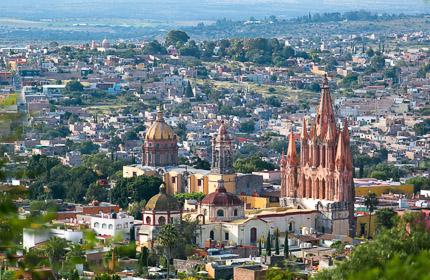 Сан-Мигель-де-Альенде — самый «европейский» город Мексики