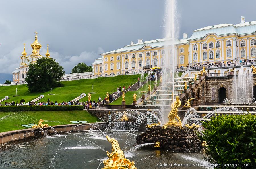 St. Petersburg, Петергоф