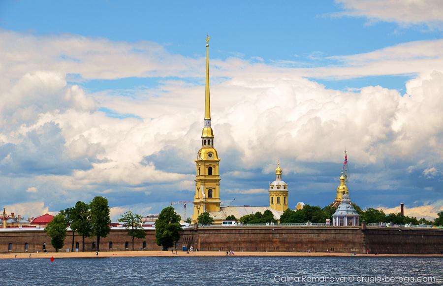 Петропавловская крепость, Санкт-Петербург, St. Petersburg