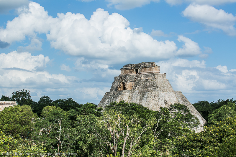 Древний город майя Ушмаль, Мексика; Uxmal Mexico