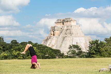 Пирамиды древнего города Ушмаль, Мексика