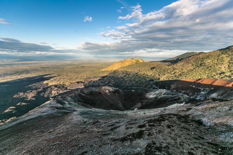 вулкан Серро-Негро, Никарагуа. Nicaragua, Cerro Negro