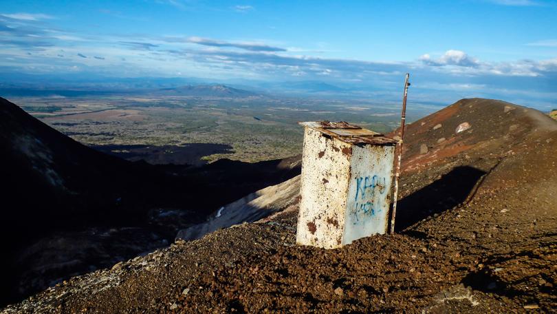 вулкан Серро-Негро, Никарагуа